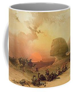 The Sphinx At Giza Coffee Mug