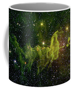 Coffee Mug featuring the photograph The Spider And The Fly Nebula by NASA JPL - Caltech