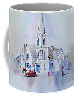 The Spire Center Coffee Mug by P Anthony Visco