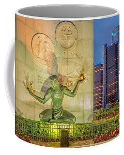 The Spirit Of Detroit  Coffee Mug
