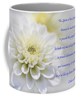 The Spirit Of The Lord Is Upon Me Coffee Mug