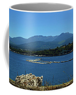 Coffee Mug featuring the photograph The Spit by Tikvah's Hope