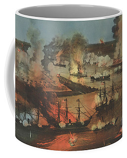 The Splendid Naval Triumph On The Mississippi, April 24th, 1862  Coffee Mug