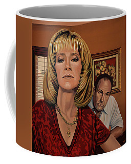 The Sopranos Painting Coffee Mug