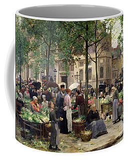The Square In Front Of Les Halles Coffee Mug