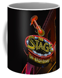 The Stage On Broadway Coffee Mug by Stephen Stookey
