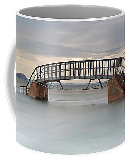 Coffee Mug featuring the photograph The Stairs And The Bass by Maria Gaellman