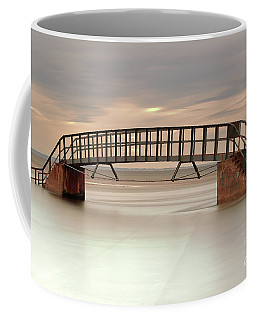 Coffee Mug featuring the photograph The Stairs by Maria Gaellman