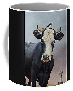 The Stare Coffee Mug by Margaret Stockdale