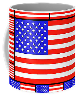 The Stars And Stripes 4 Coffee Mug