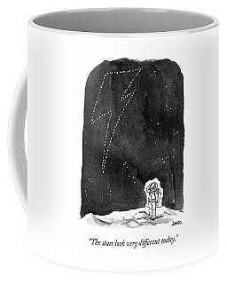 The Stars Look Very Different Today Coffee Mug