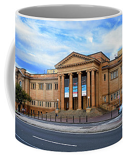 Coffee Mug featuring the photograph The State Library Of New South Wales By Kaye Menner by Kaye Menner