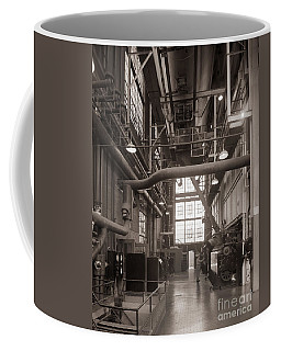 The Stegmaier Brewery Boiler Room Wilkes Barre Pennsylvania 1930's Coffee Mug