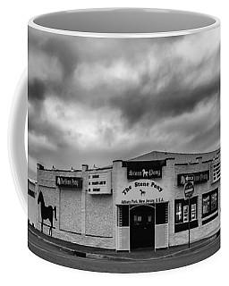 The Stone Pony Asbury Park New Jersey Black And White Coffee Mug