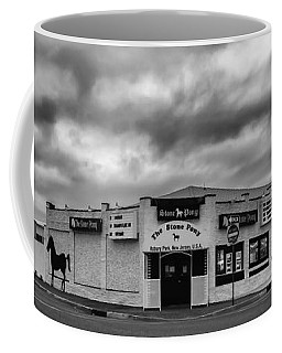 The Stone Pony Asbury Park New Jersey Black And White Coffee Mug