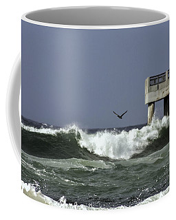 Coffee Mug featuring the photograph The Storm  by Debra Forand