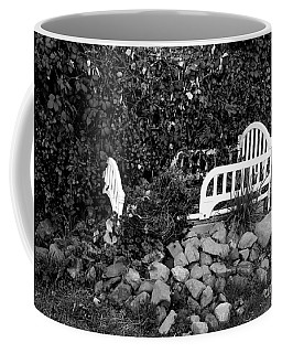 The Story Is Black And White Coffee Mug by Marie Neder