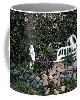 Coffee Mug featuring the photograph The Story Is  by Marie Neder