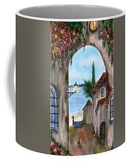 The Street Coffee Mug by Darren Cannell