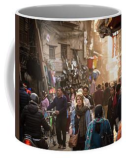 The Streets Of Kathmandu Coffee Mug