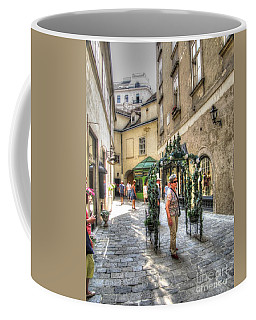 The Streets Of Vienna Austria Coffee Mug