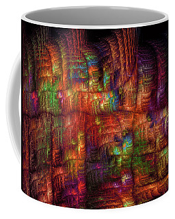 The Strong Fabric Of Dreams Coffee Mug by Menega Sabidussi