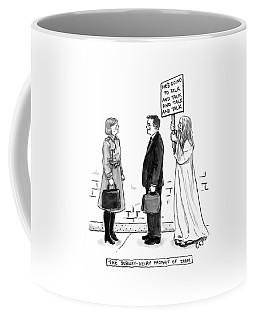 The Subway Delay Prophet Of Doom Coffee Mug