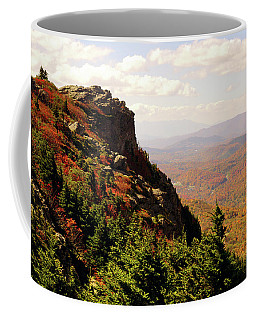 Coffee Mug featuring the photograph The Summit In Fall by Meta Gatschenberger