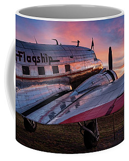 The Sun Rises On Flagship Detroit - 2017 Christopher Buff, Www.aviationbuff.com Coffee Mug