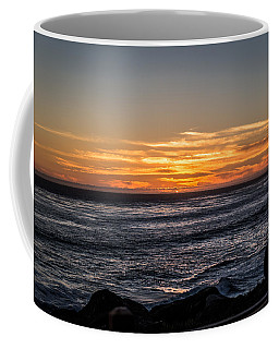 The Sun Says Goodbye Coffee Mug