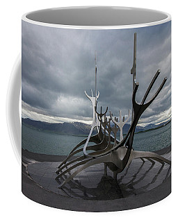 The Sun Voyager, Reykjavik, Iceland Coffee Mug by Venetia Featherstone-Witty