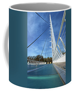 Coffee Mug featuring the photograph The Sundial Bridge by James Eddy