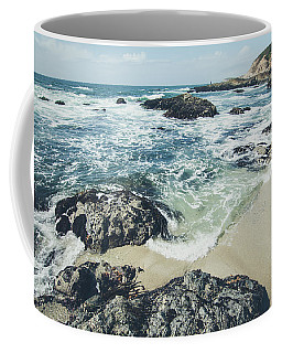 Coffee Mug featuring the photograph The Sunny Shoreline  by Margaret Pitcher