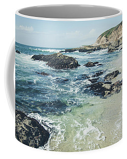 Coffee Mug featuring the photograph The Sunny Shoreline No.2 by Margaret Pitcher