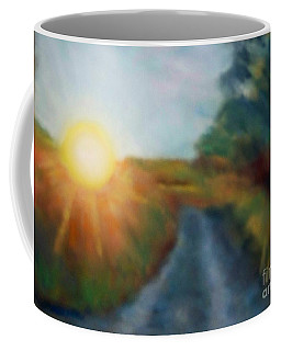 Coffee Mug featuring the photograph The Sunny Side by Shirley Moravec