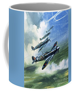 The Supermarine Spitfire Mark Ix Coffee Mug