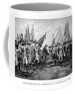 The Surrender Of Cornwallis At Yorktown Coffee Mug