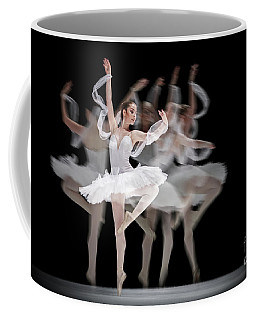 Coffee Mug featuring the photograph The Swan Ballet Dancer by Dimitar Hristov