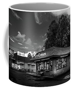 The Sweet Tooth In Black And White Coffee Mug