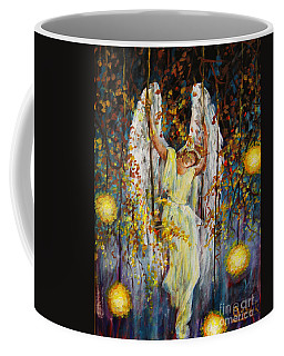The Swinging Angel Coffee Mug