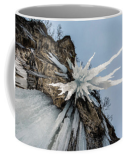 Coffee Mug featuring the photograph The Sword Of Damocles by Alex Lapidus