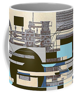 The System Coffee Mug by Andrew Drozdowicz