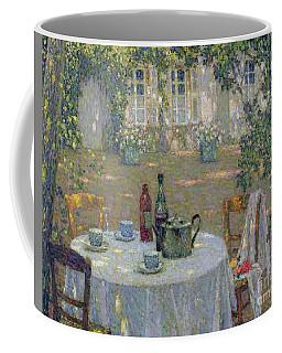 The Table In The Sun In The Garden Coffee Mug