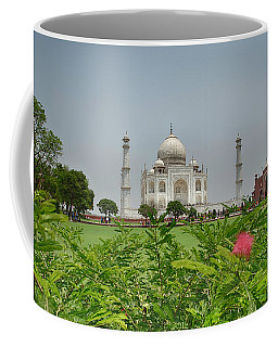 Coffee Mug featuring the photograph The Taj Mahal by Chris Cousins