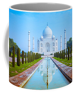 The Taj Mahal Of India Coffee Mug