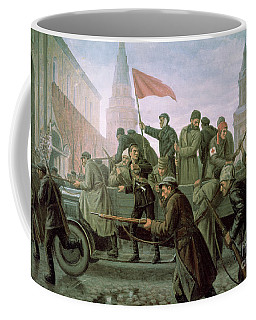 The Taking Of The Moscow Kremlin In 1917 Coffee Mug