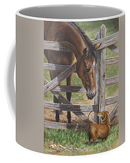 The Tall And Short Of It Coffee Mug