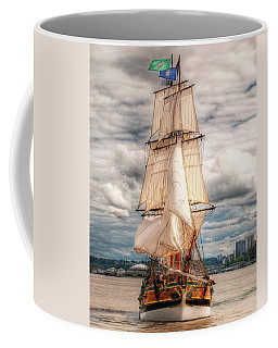 The Tall Ship The Lady Washington Coffee Mug by Greg Sigrist