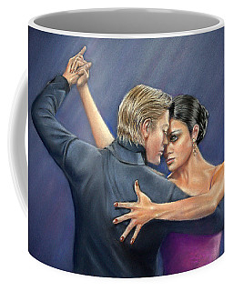 Tango Coffee Mug by Rosemary Colyer