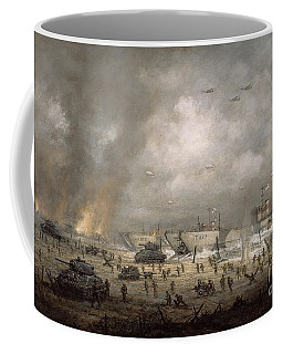 The Tanks Go In - Sword Beach  Coffee Mug